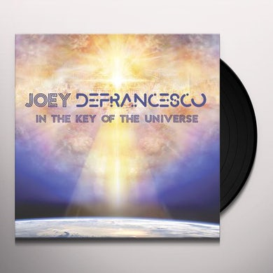 Joey Defrancesco IN THE KEY OF THE UNIVERSE Vinyl Record