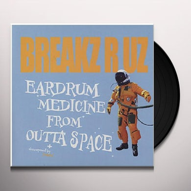 Dj Peabird EARDRUM MEDICINE FROM OUTTA SPACE Vinyl Record - Sweden Release