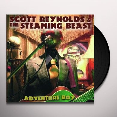 Scott Reynolds ADVENTURE BOY Vinyl Record