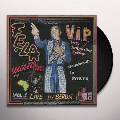 Fela Kuti V.I.P. Vinyl Record