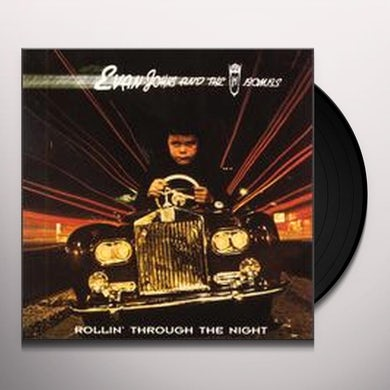 Evan Johns & H-Bombs ROLLIN THROUGH THE NIGHT Vinyl Record