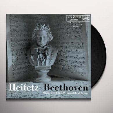 Jascha Heifetz BEETHOVEN SONATAS NOS 8 & 10 Vinyl Record