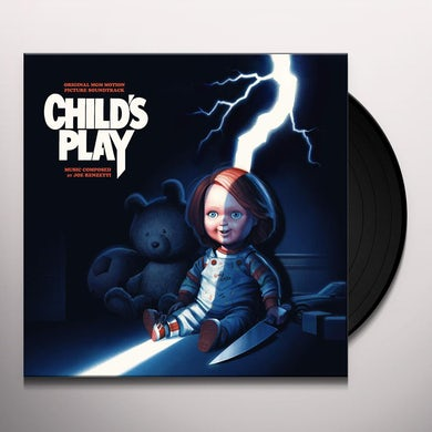 Joe Renzetti CHILD'S PLAY / Original Soundtrack Vinyl Record