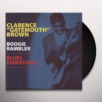 Clarence Gatemouth Brown BOOGIE RAMBLER - BLUES ESSENTIALS Vinyl Record