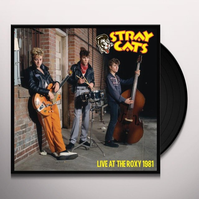Stray Cats LIVE AT THE ROXY 1981 Vinyl Record
