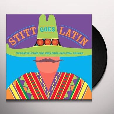 STITT GOES LATIN Vinyl Record