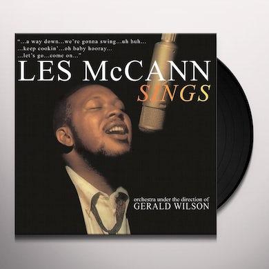 LES MCCANN SINGS Vinyl Record