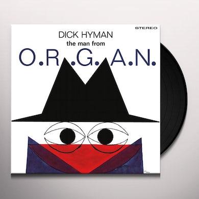 MAN FROM ORGAN Vinyl Record