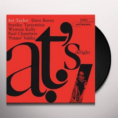 Art Taylor AT'S DELIGHT Vinyl Record