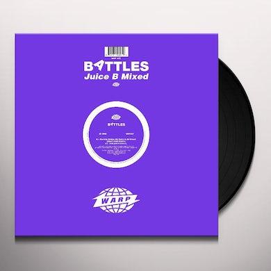 Battles Juice B Mixed Vinyl Record