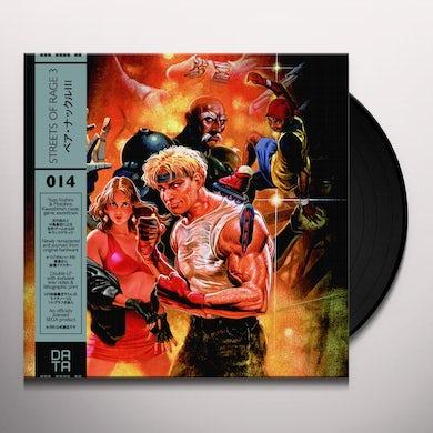 Yuzo Koshiro STREETS OF RAGE 3 / Original Soundtrack Vinyl Record