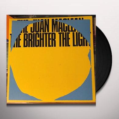 The Juan McLean THE BRIGHTER THE LIGHT Vinyl Record