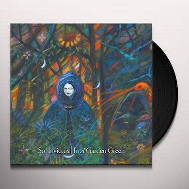 Sol Invictus IN A GARDEN GREEN (GREEN VINYL) Vinyl Record