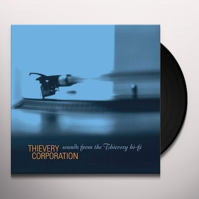 Thievery Corporation SOUNDS FROM THE THIEVERY HI-FI Vinyl Record