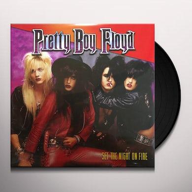 Pretty Boy Floyd Set The Night On Fire Vinyl Record