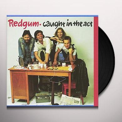 Redgum CAUGHT IN THE ACT Vinyl Record