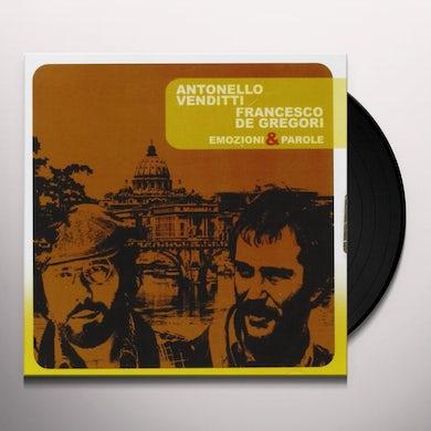 Antonello Venditti / Francesco De Gregori ROMA CAPOCCIA Vinyl Record