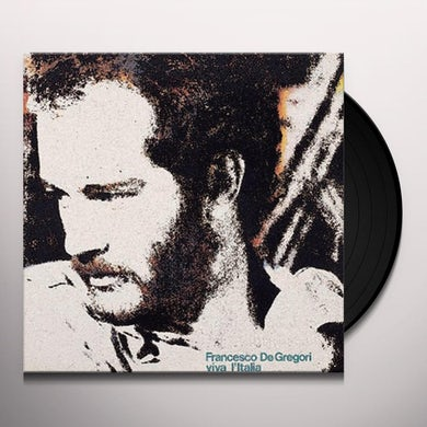 Francesco De Gregori VIVA L'ITALIA Vinyl Record