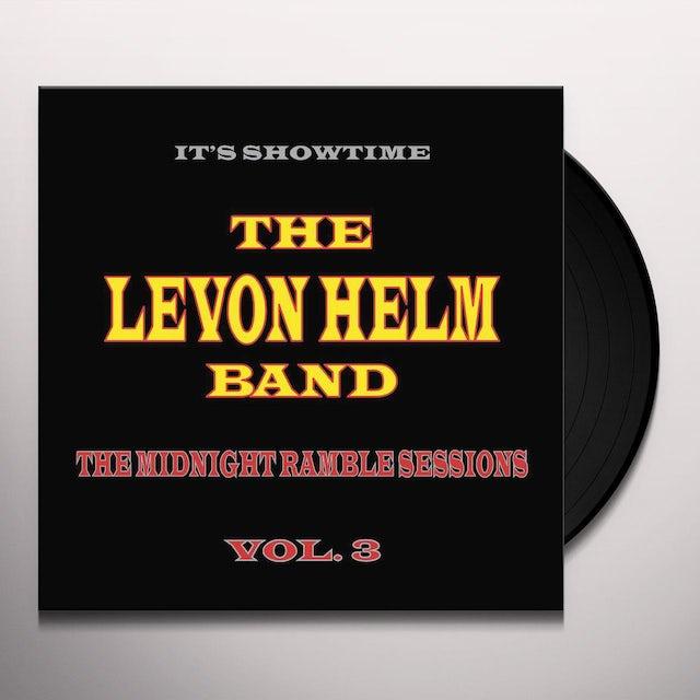 Levon Helm MIDNIGHT RAMBLE SESSIONS 3 Vinyl Record