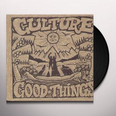 Culture GOOD THINGS Vinyl Record