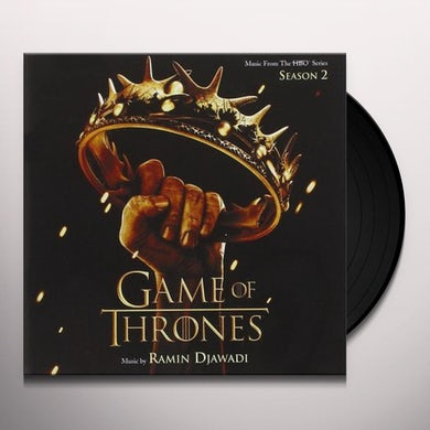 GAME OF THRONES SEASON 2: MUSIC FROM HBO SERIES Vinyl Record