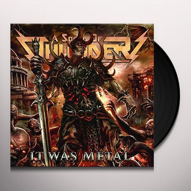 Sound Of Thunder IT WAS METAL Vinyl Record