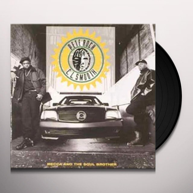 Pete Rock & C.L. Smooth MECCA & THE SOUL BROTHER Vinyl Record