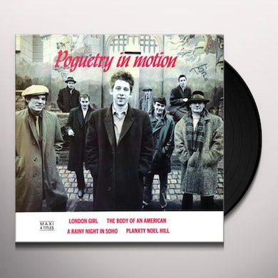 The Pogues POGUETRY IN MOTION Vinyl Record