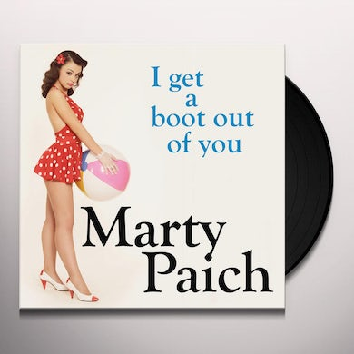 Marty Paich I GET A BOOT OUT OF YOU Vinyl Record