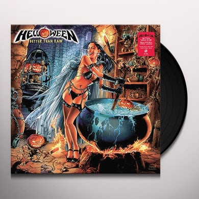 Helloween BETTER THAN RAW Vinyl Record