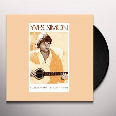 Yves Simon DIABOLO MENTHE Vinyl Record