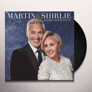 Martin & Shirlie IN THE SWING OF IT Vinyl Record
