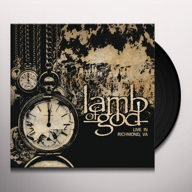 LAMB OF GOD: LIVE IN RICHMOND VA Vinyl Record