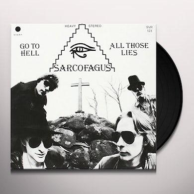 Sarcofagus GO TO HELL Vinyl Record