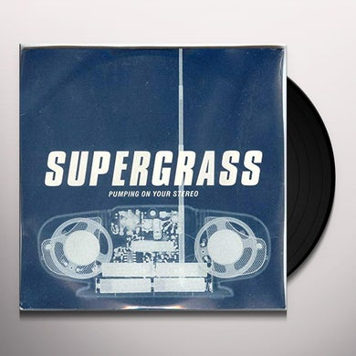 Supergrass PUMPING ON YOUR STEREO / MARY Vinyl Record