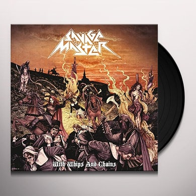 SAVAGE MASTER WITH WHIPS & CHAINS Vinyl Record