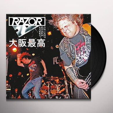 OSAKA SAIKOU: LIVE IN JAPAN (BLOOD RED VINYL) Vinyl Record
