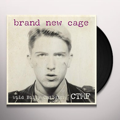 Billy Childish BRAND NEW CAGE Vinyl Record