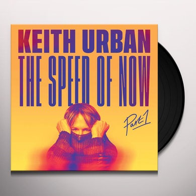 Keith Urban THE SPEED OF NOW Part 1 (2 LP) Vinyl Record