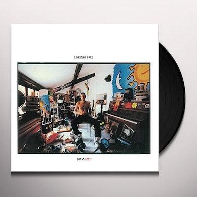 Jovanotti LORENZO 1992 Vinyl Record