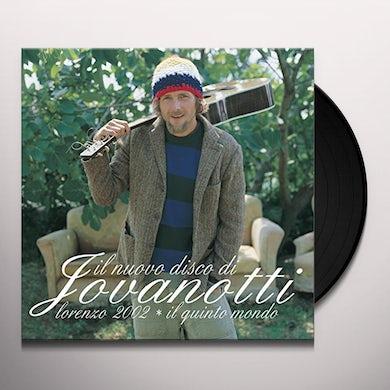 Jovanotti LORENZO 2002: IL QUINTO MONDO Vinyl Record