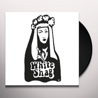 White Shag Vinyl Record