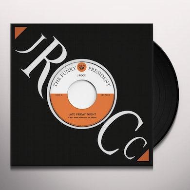 J-Rocc FUNKY PRESIDENT EDITS VOL. 6: LATE FRIDAY NIGHT Vinyl Record