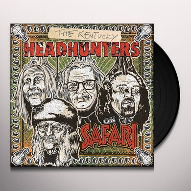 Kentucky Headhunters ON SAFARI Vinyl Record