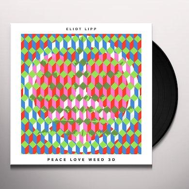 Eliot Lipp PEACE LOVE WEED 3D Vinyl Record