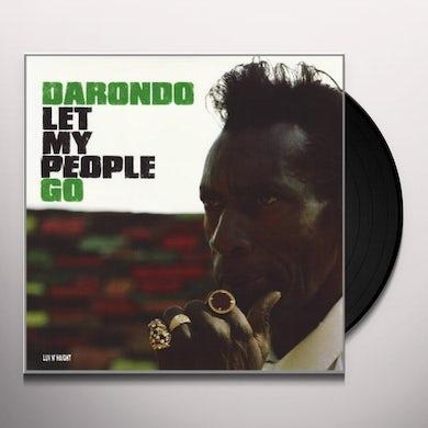 Darondo LET MY PEOPLE GO Vinyl Record