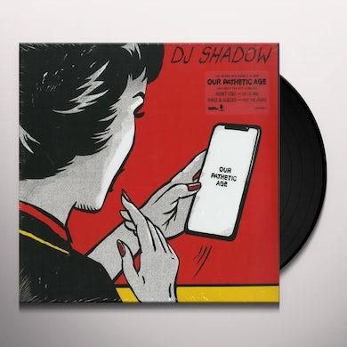 Dj Shadow Our Pathetic Age (2 LP) Vinyl Record