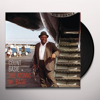 Count Basie ATOMIC MR BASIE (PHOTO COVER JEAN-PIERRE LELOIR) Vinyl Record