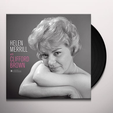 Helen Merrill WITH CLIFFORD BROWN (COVER PHOTO JEAN-PIERRE) Vinyl Record