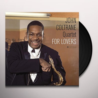 John Coltrane  FOR LOVERS (COVER PHOTO BY JEAN-PIERRE LELOIR) Vinyl Record